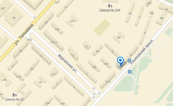 2014-12-14 22-37-40 Россия, Красноярск, Ульяновский проспект, 8а — Яндекс.Карты - Mozilla Firefox
