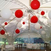 Средние шары с воздухом (40 см)