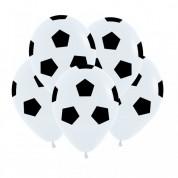 """""""Футбольный мяч"""", Белый Пастель"""