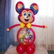 Мышка с шаром-сюрпризом!