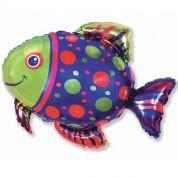 Пятнистая рыбка 72 см