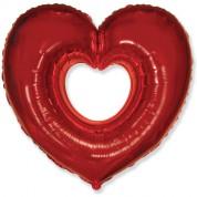 Сердце Вырубка 100 см.
