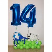 "14 в композиции ""Футболисту"""