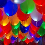 30 шт.  Светящиеся шары ассорти