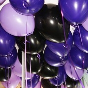 Пастель - сиреневый, фиолетовый, черный