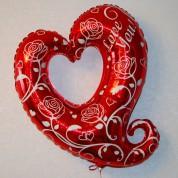 Сердце фигурное 77 см
