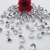"""""""Бриллианты"""" 6,5 мм - 1 000 шт. (Серебро)"""