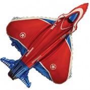 Супер Истребитель красный 90 см.