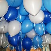 Пастель - белый, голубой, синий
