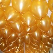 Металлик золотой