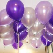 Металлик - серебро, фиолетовый, сиреневый