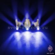 3D Синий светодиод в защитном корпусе