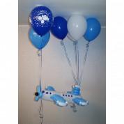 Самолет + 6 шариков