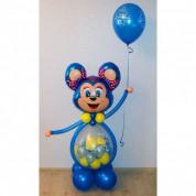 Мышонок с шаром-сюрпризом + шарик