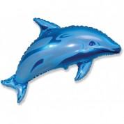 Дельфин Синий 87 см.