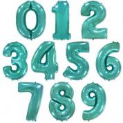 Цифра Тиффани 86 см. (гелий)
