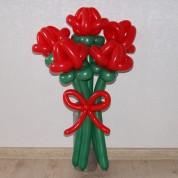 """Букет 28 """"Раскрытые тюльпаны"""" (5 шт)"""