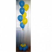 Фонтан из 7 шаров с жемчужинками