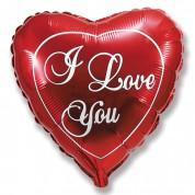 Сердце Любовь (красное) 65 см.