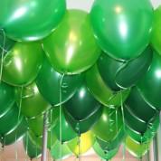 Металлик 3 цвета - зеленый