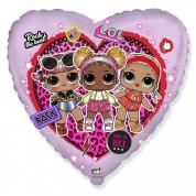 Куклы LOL Сердце 40 см