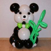 Панда с бамбуком - 110 см