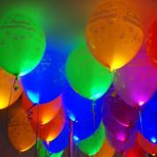 1 шт. Светящиеся шары с днем рождения
