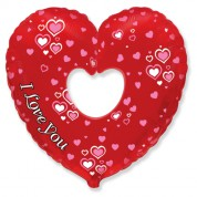 Сердце в сердце Вырубка 89 см.