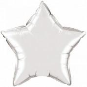 Звезда Серебро 40 см
