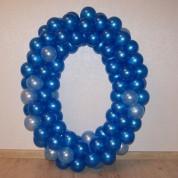 Цифра из воздушных шаров 100 см