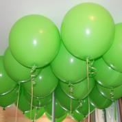 Шары 55 см зеленые