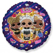Куклы LOL круг 40 см