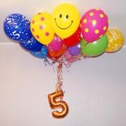 Связка на день рождения (15 шт)